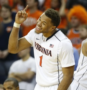 A lot of scouts have been impressed in workouts with Justin Anderson. (Photo credit to nbccollegebasketballtalk.com)