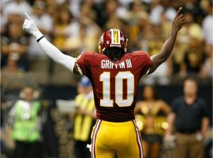 Robert Griffin III needs to shut up and play football. (Photo credit to sportstalkflorida.com)